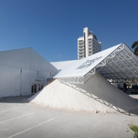 Design Miami is both an oasis and an oddity. It's a relief to cross the road from the South Beach Convention Center, escaping the overcrowded, brain-numbing vastness and entering the spacious calm of a modest but elegantly appointed design show.